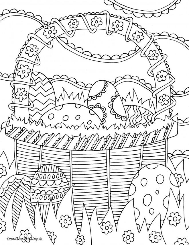 Coloriage et dessins gratuits Inspiration Zen Oeufs magiques à imprimer