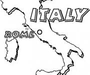 Coloriage dessin  Italie 12