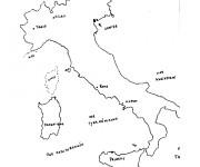 Coloriage dessin  Italie 4