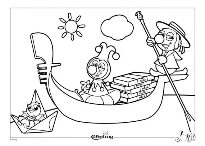 Coloriage et dessins gratuits Italie Dessin Animé à imprimer