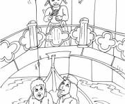 Coloriage et dessins gratuit Italie Venise à imprimer