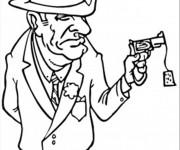 Coloriage la Mafia italienne