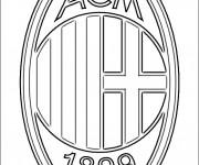 Coloriage dessin  Logo de Foot 26
