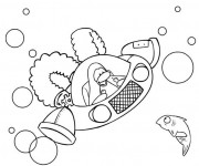 Coloriage et dessins gratuit Club Penguin Jeux Vidéo à imprimer