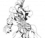Coloriage et dessins gratuit Jeux Vidéo Assassin Creed 3 à imprimer
