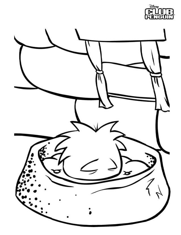 Coloriage et dessins gratuits jeux vidéo Club Penguin à imprimer