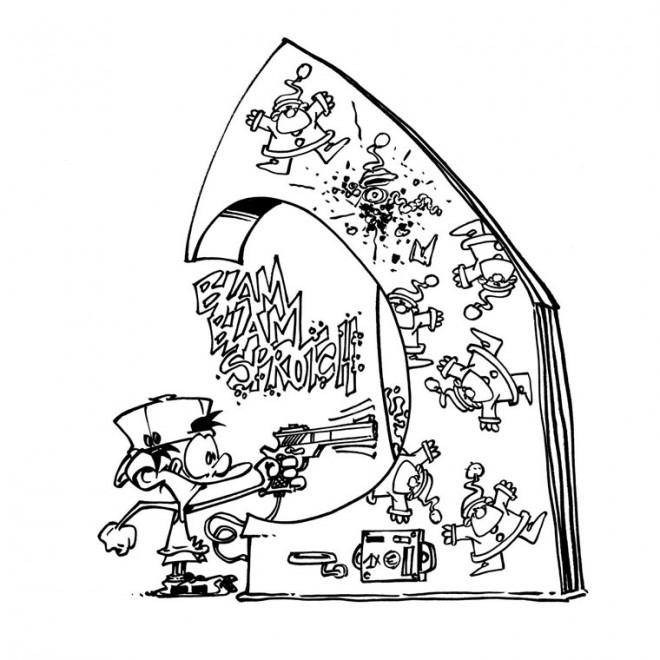 Coloriage jeux vid o dr le dessin gratuit imprimer - Jeux gratuit de dessin ...