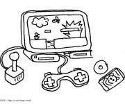 Coloriage et dessins gratuit Jeux Vidéo Nintendo à imprimer
