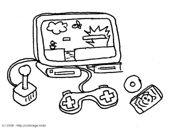 Coloriage et dessins gratuits Jeux Vidéo Nintendo à imprimer