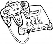 Coloriage et dessins gratuit Jeux Vidéo Play Station à imprimer