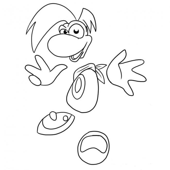 Coloriage et dessins gratuits Personnage jeux vidéo à compléter à imprimer