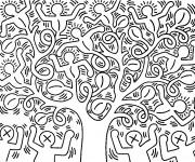 Coloriage Adulte Klimt