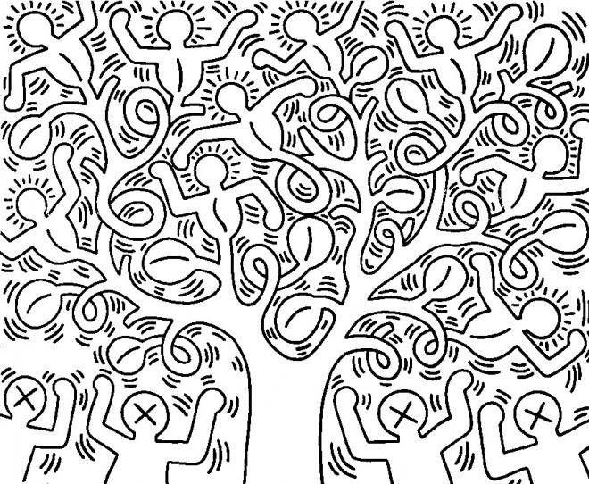 Coloriage et dessins gratuits Adulte Klimt à imprimer