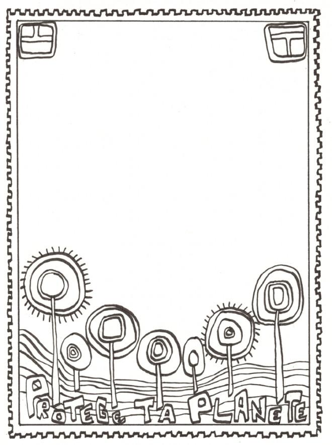 Coloriage et dessins gratuits Klimt Artistique à imprimer
