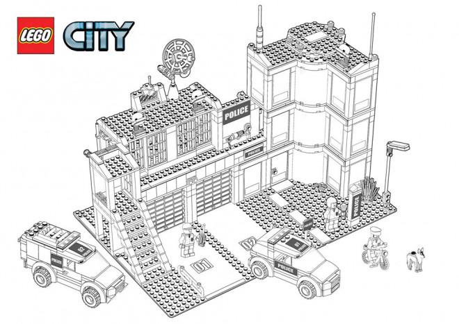 Coloriage et dessins gratuits Légo City à imprimer