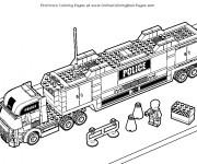 Coloriage dessin  Lego City 3