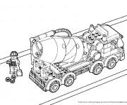 Coloriage dessin  Lego City 5