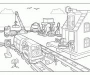Coloriage dessin  Lego City 7