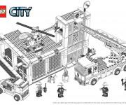 Coloriage dessin  Lego City 9