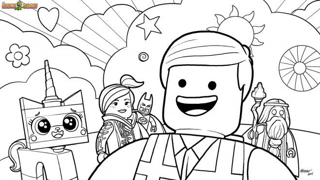 Coloriage et dessins gratuits Légo City maternelle à imprimer