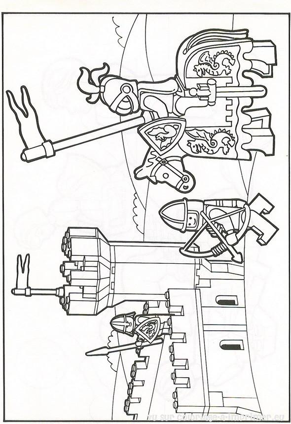 Coloriage et dessins gratuits Légo Dessin Animé à imprimer