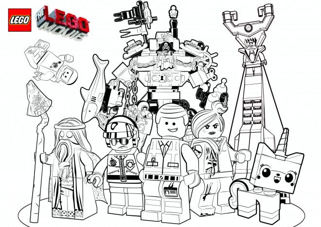 Coloriage et dessins gratuits Légo Film à imprimer