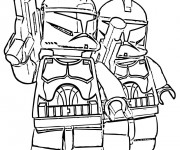Coloriage Légo Film Star Wars