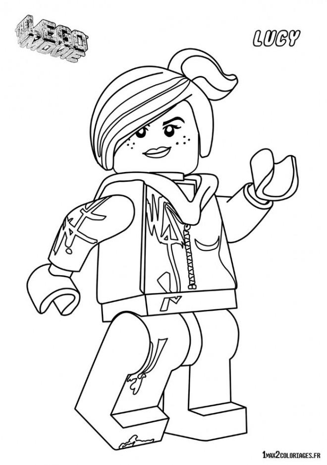 Coloriage Lego Fille.Coloriage Lego Lucy Dessin Gratuit A Imprimer
