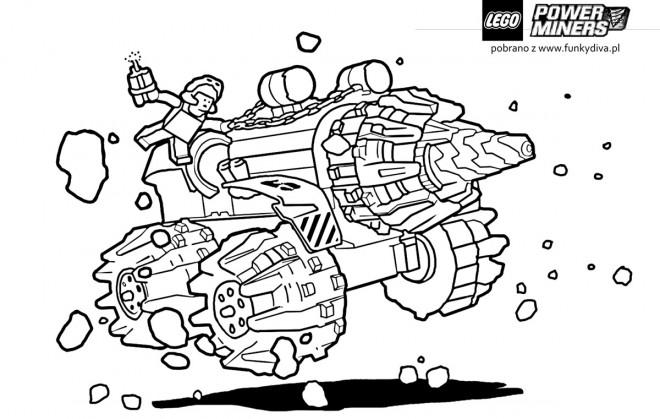 Coloriage et dessins gratuits Légo Machine à imprimer