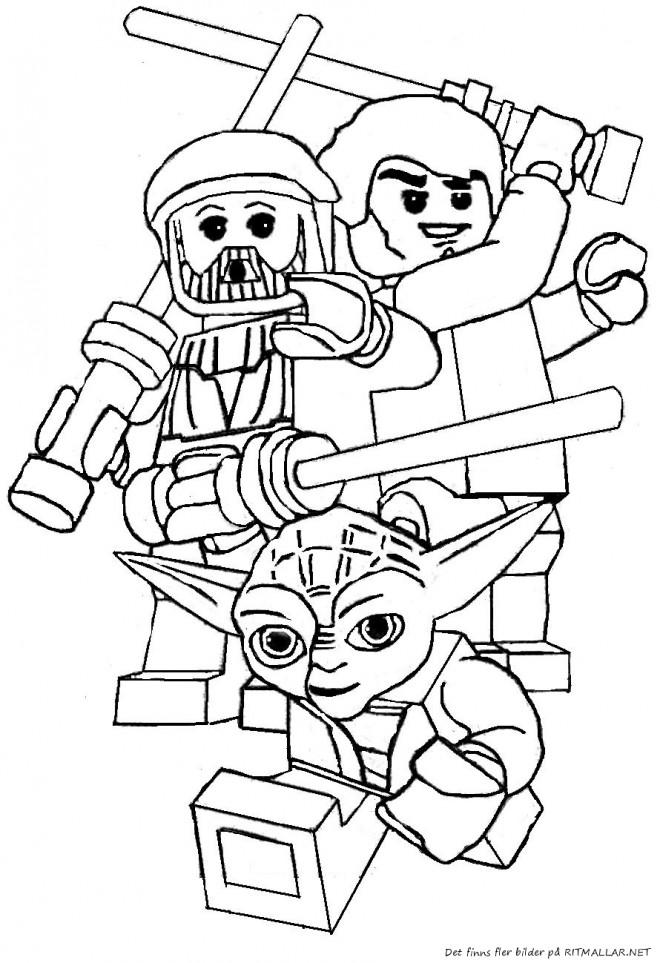 Coloriage et dessins gratuits Légo Nexo Knights à imprimer