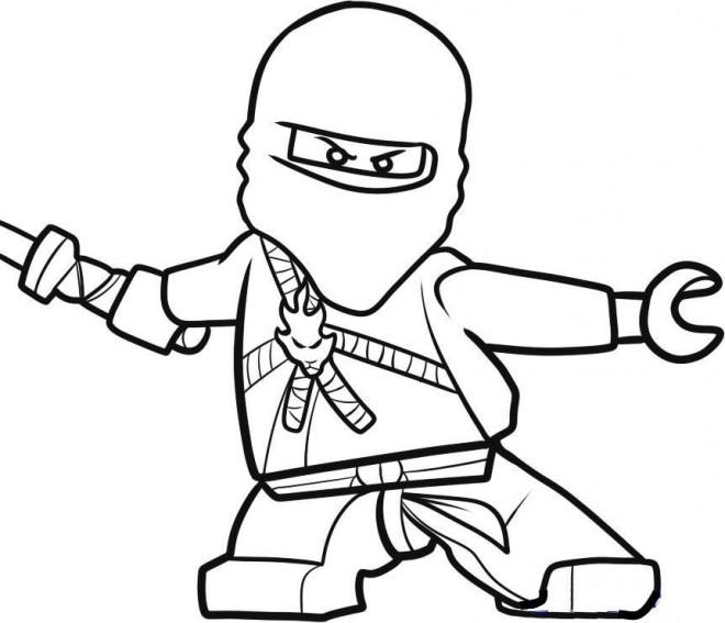 Coloriage et dessins gratuits Légo Ninjago à imprimer