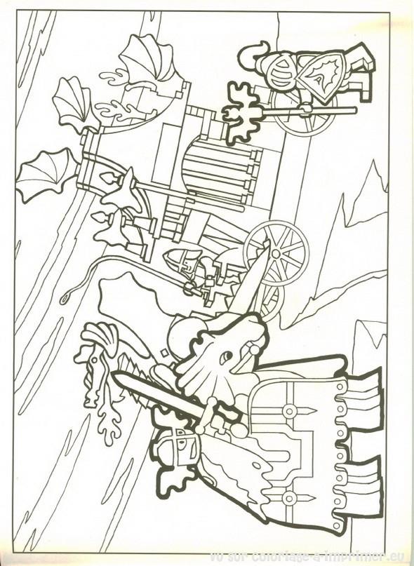 Coloriage et dessins gratuits Légo Royaume à imprimer
