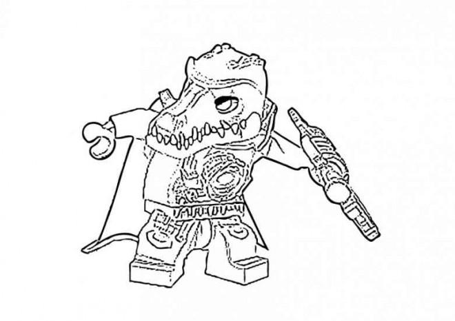 Coloriage et dessins gratuits Personnage Légo à imprimer