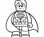 Coloriage dessin  Superman 16