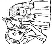 Coloriage Métier Coiffeur des femmes