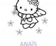 Coloriage Les Prénoms Anaïs pour Fille