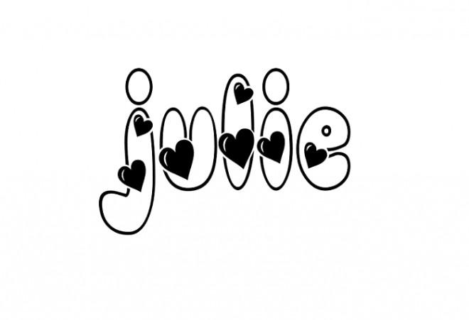 Coloriage et dessins gratuits Les Prénoms Julie à imprimer
