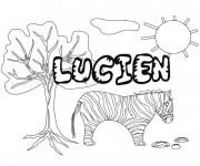 Coloriage et dessins gratuit Les Prénoms Licien à imprimer