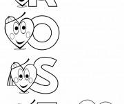 Coloriage et dessins gratuit Les Prénoms Rose à imprimer