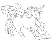 Coloriage dessin  Licorne 11