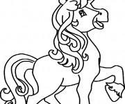 Coloriage dessin  Licorne 12