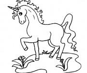 Coloriage dessin  Licorne 16