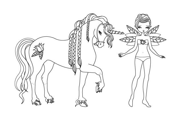 Coloriage licorne 55 dessin gratuit imprimer - Licorne a imprimer gratuit ...