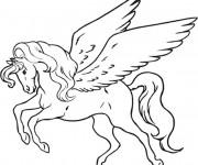 Coloriage dessin  Licorne 8
