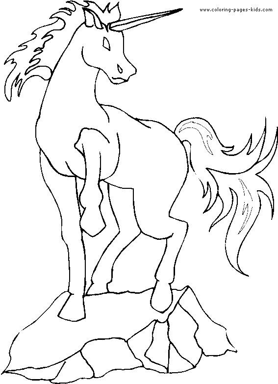 Coloriage et dessins gratuits Licorne à compléter à imprimer
