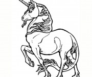 Coloriage Licorne en ligne