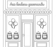 Coloriage et dessins gratuit Le Marchand de Bonbons à imprimer