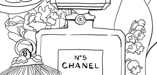 Coloriage et dessins gratuits Magasin de Parfum à imprimer