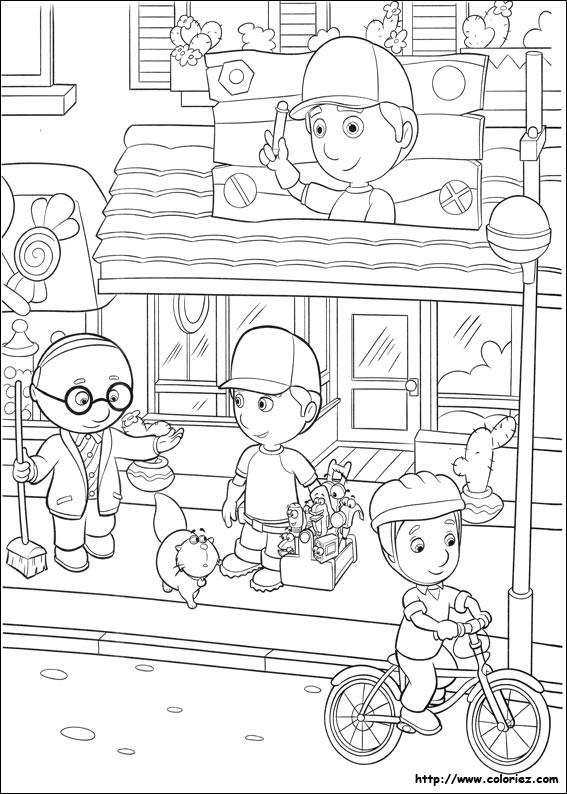 Coloriage et dessins gratuits Magasin Dessin animé à imprimer