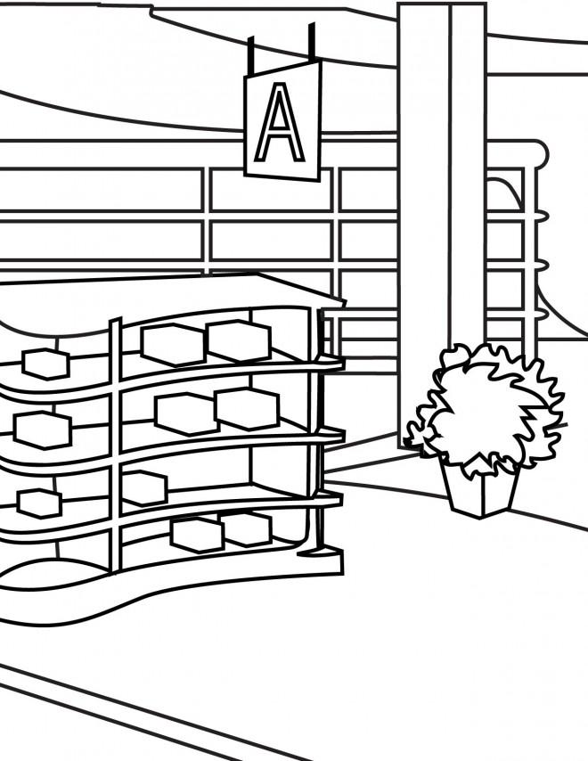 Coloriage et dessins gratuits Magasin en ligne à imprimer